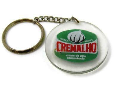 Vintage Keychain: Foreign Brazil Cremalho Creme de Alho Garlic Cream Cheese Garlic Cream Cheese