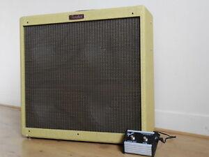 Fender Tube amp Blues DeVille reissue 410 tweed,  all original .