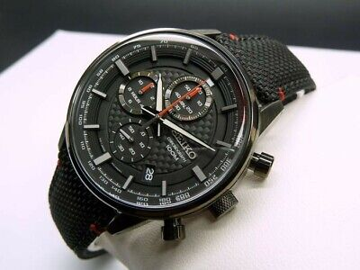 Seiko Chronograph Watch SSB315P - basically new (with box and papers)