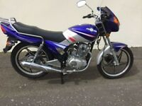 UNREGISTERED JINCHENG JL125 MOTORCYCLE NO MILES NEVER USED WAS £1299 NOT £600
