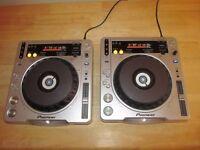 PIONEER CDJ 800s MK 2 x2