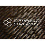 "Carbon Fiber/BRONZE ZYLON Fabric 2x2 Twill 50"" 3k 5.5oz/186.48 gsm"