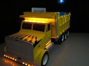 EXTREME MACHINE - Custom Dump Truck Twin Bed .. ♥‿♥