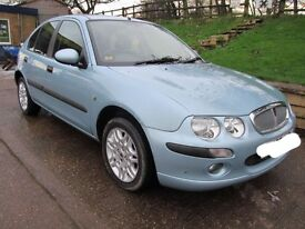 Rover 25 - 1.6 auto/manual low miles