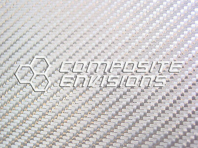 Silver Aluminized Fiberglass Panel Sheet .1333.4mm 2x2 Twill - Epoxy-12 X 24