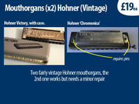 Mouthorgans x2 Hohner, £19 each