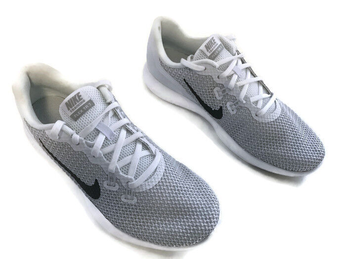 Nike Womens Flex 7 Cros Trainer, Whitemetalic Silver-pure Platinum, 7 Us 38 Eu