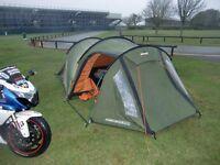 Vango Omega 350 tent.Three birth.
