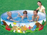 "Brand new - BOXED. Padding pool - Bestway Dinosaur Fill 'n' Fun Pool 72""x15"