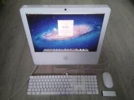 17' Apple iMac White 1.83Ghz 2Gb Ram 160GB Logic Pro 9 Ableton Adobe Photoshop illustrator Lightroom