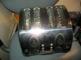 Kenwood TTM404 4-Slice Toaster│1400 Watt│ Stainless Steel