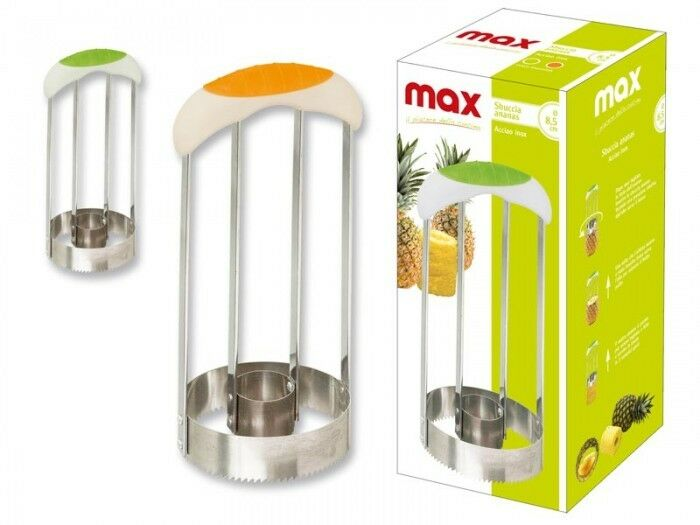 Imperdibile sbuccia affetta ananas frutta affettatrice a mano acciaio inox max