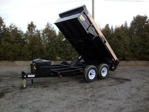 6 Ton Scissor Lift Dump Trailer - Great Value