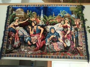 FOR SALE PERSIAN WOOL TAPESTRY WALL HANGING