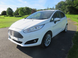 FORD FIESTA 1.4 TDCI 18k 5DR WHITE NEW SHAPE £20Yr ROAD TAX MUST SEE!..