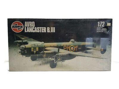 Vintage 1982 AIRFIX 1/72 AVRO LANCASTER B.III MODEL KIT #8002 NISB World War II