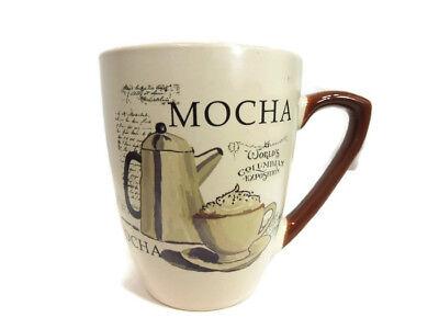 - 13 oz Coffee Mug Tea Cup Ceramic Cup Home Decoration Gift Birthday Mocha