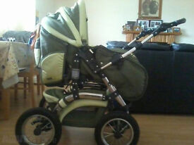 City Driver Baby Pushchair
