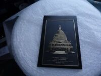 ST Paul's Cathedral Royal Wedding H.R.H Prince Charles – Lady Diana July 1981 Black Plaque,