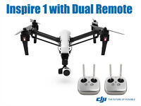 DRONE DJI INSPIRE 1 WITH 2 CONTROLLERS AND 2 BATTERIES