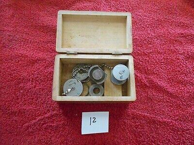 Vintage Dow Mechanical Stage Set Master Model 10 Tg-95610  Orig Wood Box