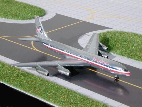 Gemini Jets - American B707-320B   GJAAL145W  Scale 1:400