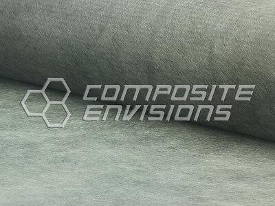 Carbon Fiber Cloth Fabric Veil Chopped Mat 35.5 .20oz 7gsm