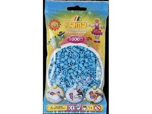 Hama 49 bleu azur sachet de 1000 perles à repasser taille Midi - France - État : Neuf: Objet neuf et intact, n'ayant jamais servi, non ouvert. Consulter l'annonce du vendeur pour avoir plus de détails. ... - France