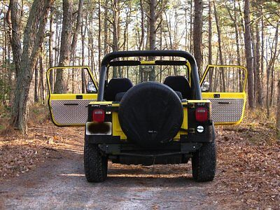 CJ7 YJ Wrangler CJ8 Scrambler Jeep Diamond Plate Interior Door Panels FREE SHIP
