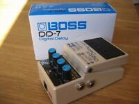 Boss DD-7 Delay Pedal - near perfect condition