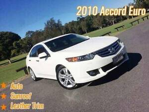 2010 Honda Accord Euro Luxury Auto MY11 Mansfield Brisbane South East Preview