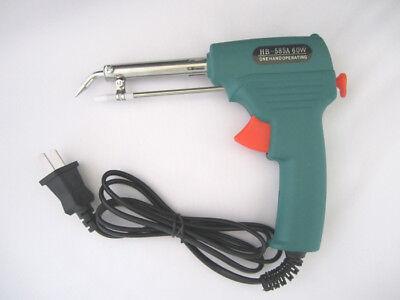 60w Automatic Feed Soldering Iron Gun Solder Tin Welding Self Feeding Adjustable