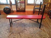 Weight Bench / banc d'exercice