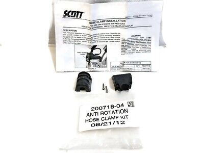Scott Scba Anti-rotation Hose Clamp Kit For Heads Up Display 200718-04 New