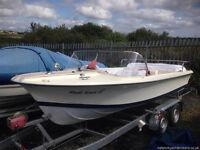 19ft Mark Twain Retro Sports Boat - Inboard Petrol Engine