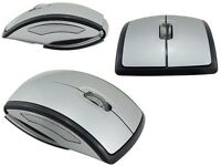 Folding Wireless Usb Optical Mouse Scroll Wheel 10 Metre Range 3 Button - unbranded/generic - ebay.co.uk