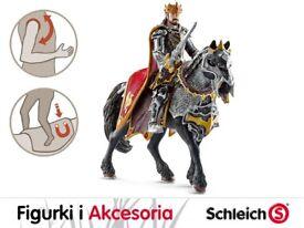 schleich eldrador dragon knight king on horse