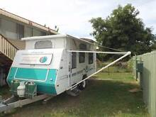 "Jayco Freedom 2002 17 ft Offroad Poptop, 7"" Chassis Solar Packag. Rockhampton Rockhampton City Preview"