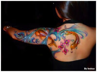 Airbrush Tattooing For Parties