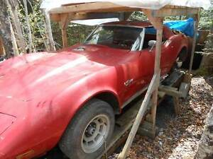 1976 corvette project car