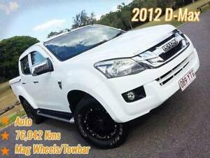 2012 Isuzu D-MAX LS High Ride Utility Dual Cab 4dr Auto 4sp 4x2 Mansfield Brisbane South East Preview