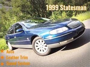 1999 Holden Statesman Sedan Mount Gravatt East Brisbane South East Preview