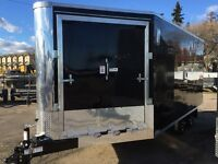 New 2016 - 3 Place Enclosed Sled Trailers