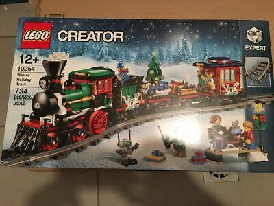 LEGO Christmas Theme 10254 Winter Holiday Train + 10259 Winter Village Station