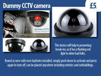 Passive (Dummy) CCTV camera - designed to immitate a real one