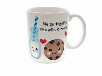MILK AND COOKIES Coffee Tea Mug GIFT Best Friends Boyfriend