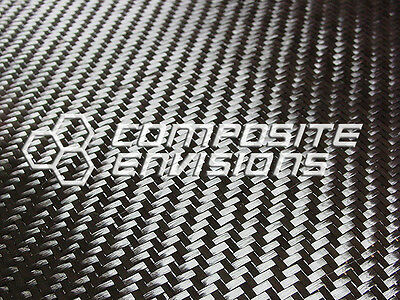 Carbon Fiber Cloth Fabric 2x2 Twill 50 6k 11oz