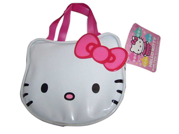 hello kitty bathroom set. Hello Kitty Bath Tote Gift Set Top 5 Accessories for Young Girls  eBay