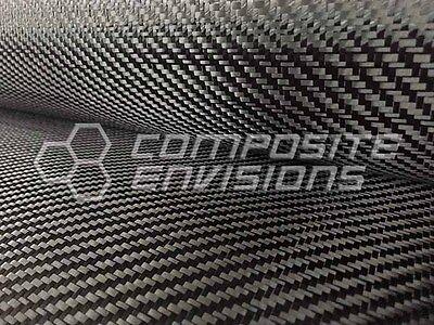 Commercial Grade Carbon Fiber Cloth Fabric 2x2 Twill 50 3k 6oz203.43gsm