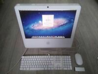 17' Apple iMac White 1.83Ghz 2Gb 160GB Logic Pro 9 Waves GarageBand Adobe CS6 Microsoft Office 2011